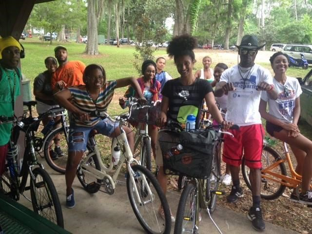 bike club in action