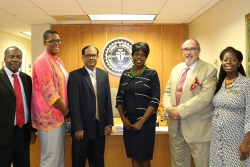 FAMU Hosts Vice Chancellor from Leading Indian Agricultural University