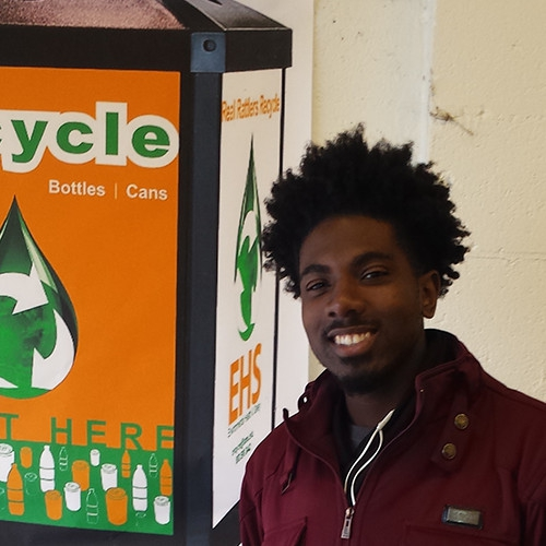 """Unity in Recycling"" is the Goal for Student Recycling Coordinator"